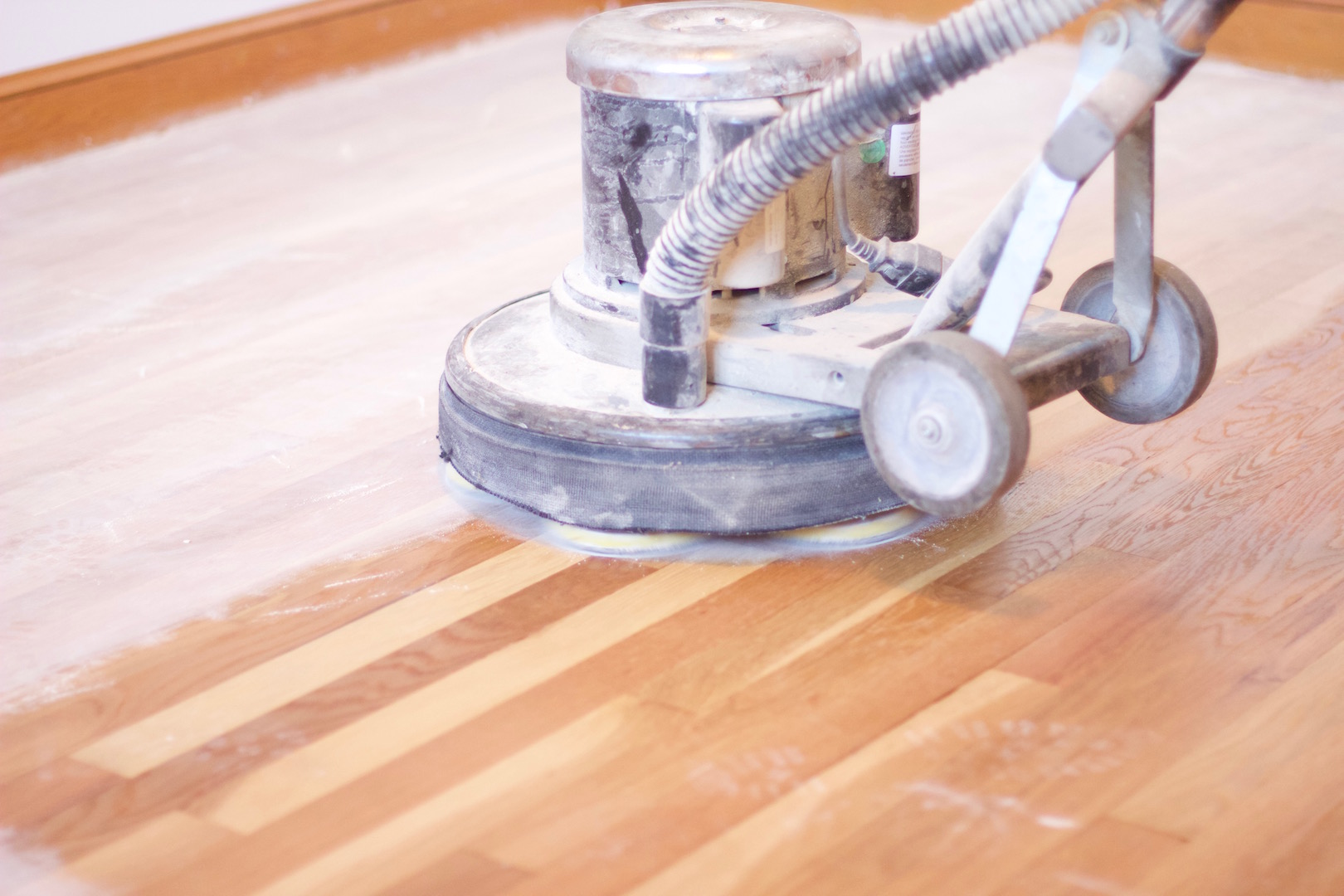 Buffing Perfect Hardwood Flooring